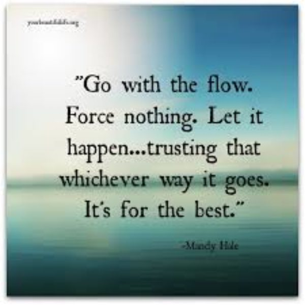 Going With The Flow ~ A Meditation To Soothe Resistance and Release Control